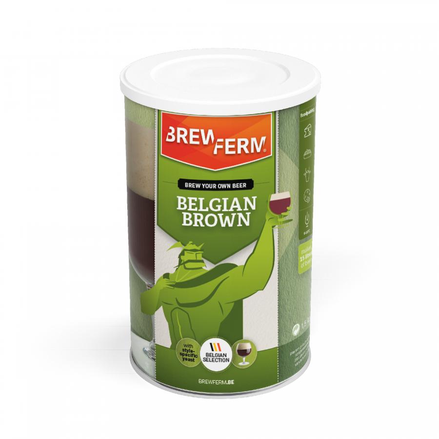 Pivski komplet BREWFERM® Belgian Brown
